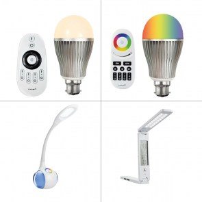 f3c2f28f1276 LED Desk Lamps : Dimmable LED Lamp with Colour Changing Base (HAS/004)